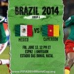 Join in (#Joinin) the Global Conversation on 2014 FIFA World Cup and be sure to use the hashtag #MEXCMR or #MEXvsCMR in Twitter for the 2014 FIFA World Cup Match 2 which will be played after few minutes in between the #Mexico and #Cameroon. Also Check :...