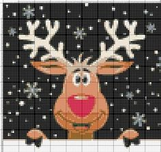 This Pin Was Discovered By Жен - Diy Crafts Xmas Cross Stitch, Cross Stitch Kits, Cross Stitch Charts, Cross Stitching, Cross Stitch Patterns, Christmas Knitting, Christmas Cross, Knitting Charts, Knitting Patterns