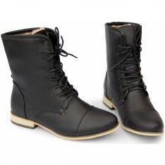 MILITARNE BOTKI OCIEPLANE 31-TLT FUTRO BLACK Combat Boots, Shopping, Shoes, Fashion, Moda, Zapatos, Shoes Outlet, Fashion Styles, Shoe