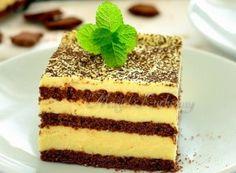 Recept Nepečené žloutkové řezy Czech Recipes, Ethnic Recipes, Something Sweet, No Bake Cake, Tiramisu, Sweet Tooth, Deserts, Dessert Recipes, Cooking Recipes