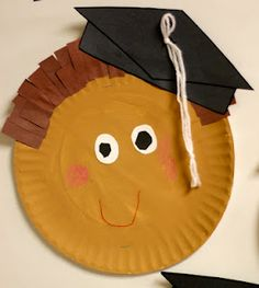 The kids can make a self portrait and then other kids can write them wishes on a diploma shaped paper