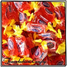 Cherry Jolly Ranchers from Temptation Candy! Cherry is everyone's favorite flavor! Sour Candy, Red Candy, Jolly Rancher Flavors, Candy Craze, Jelly Belly Beans, Cherry Baby, Laffy Taffy, Candy Brands, Chocolate Sweets