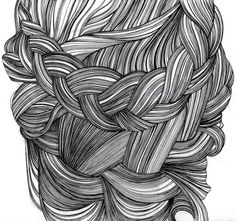 Fineliner Drawings by Thuong Le, via Behance