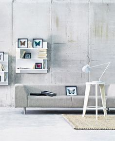 Less 2½ pers. sofa m. Sjeselong