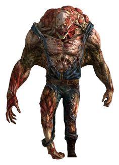 Necromorph Type Monster