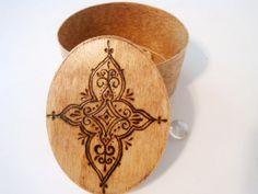 Henna Mandala Designs | Henna Mandala Woodburned Box by DekoMuse on Etsy