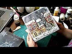 Новогодняя шкатулка ✿ Christmas wooden box ✿ МК Натальи Фохтиной.