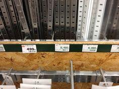 ホームセンターでガチャ柱が 売っています DIY女子の強い味方「棚柱」でデッドスペースを有効活用しよう! - NAVER まとめ