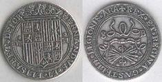 8 reales plata (1516 - 1558), Burgos.