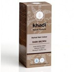 Khadi Natural™ Herbal Hair Colour Dark Brown this natural herbal dye gives your hair a cold dark chocolate brown colour. It can be used on grey hair. Instruction of use: Wash the hair with a silicon free shampoo. Dyed Natural Hair, Natural Shampoo, Natural Hair Care, Natural Hair Styles, Hair Color Dark, Brown Hair Colors, Dark Hair, Dry Scalp Remedy, Herbal Hair Colour