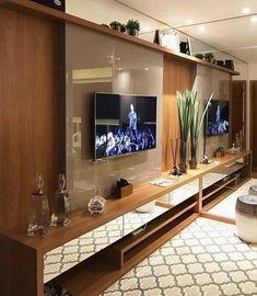 home theater planejado sala 67 Ideas home theater planejado laca Home Theater Design, Home Interior Design, Room Interior, Living Room Tv, Home And Living, Outdoor Kitchen Cabinets, Sala Grande, Home Tv, Trendy Home