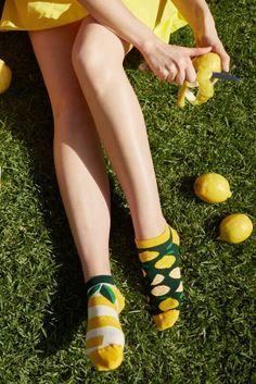 Funky Socks, Crazy Socks, Pineapple Socks, Matching Socks, Meet Friends, Inspiration Mode, Happy Socks, Cotton Socks, Mellow Yellow