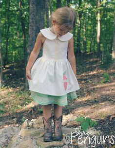 Looking for your next project? You're going to love Seraphina Dress & Tunic Pattern by designer Honeydew Kisses.