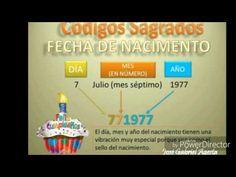 CÓDIGO SAGRADO PERSONAL FECHA DE NACIMIENTO POR JOSE GABRIEL URIBE AGESTA - YouTube