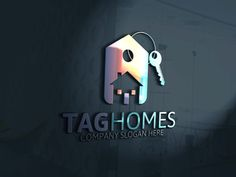 Tag Homes Logo by Josuf Media on Creative Market                                                                                                                                                                                 More
