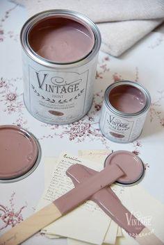 Vintage Paint - Roze Krijtverf Mat - Vintage Powder - 100 ml Wall Colors, House Colors, Girl Room, My Room, Pink Chalk, Chalk Paint, Paint Colors For Home, Bedroom Colors, Purple Bedroom Decor