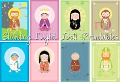 free fun saint printables for catholic kids