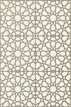 Classic Moroccan Stencil