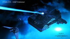 Commissioned Project - USAF Endeavour - Scene 5 Stargate - USAF Endeavour Scene to show off the ship. Stargate Ships, Camera Shutter Speed, Space Series, Sci Fi Spaceships, Space Battles, Sci Fi Ships, Open Fires, Star Destroyer, Scene