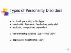 Personality Disorders in Modern Life (Part 2 of Personality Disorder Symptoms, Pathological Liar, Interpersonal Relationship, School Psychology, Anti Social, Getting To Know You, Disorders, Counseling, Thats Not My