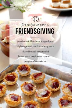 Five Recipes to Impress Your Guests at Friendsgiving #theeverygirl