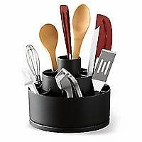 This holds so much!!  Pampered Chef Tool Turn About.  Amazing!