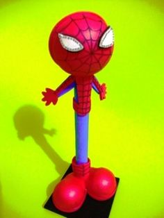 Hombre araña fofupluma