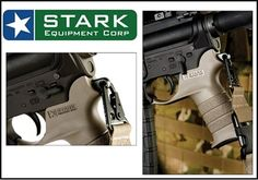THE AR-15 RIFLE: The Stark SE-2 SlingGrip and the Condor CBT Bungee Sling