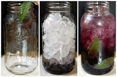 Blackberry sage flavored water