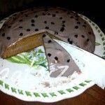 torta leggera di farro alla liquirizia con crema al cacao
