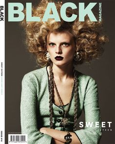 New Zealand-based glossy Black Magazine offers four top models for its latest covers