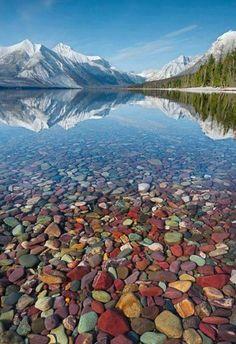 Lake McDonald, Montana. | #MostBeautifulPages