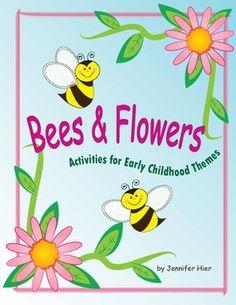 Bees, Bees, Bees!  Great activities for preschool and Kindergarten.