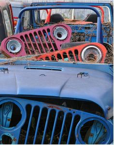 Old jeep parts n pieces
