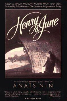 Henry and June (Anais Nin) • Director:   Philip Kaufman • Writers: Anaïs Nin (book), Philip Kaufman (screenplay) •  Stars: Fred Ward, Uma Thurman, Maria de Medeiros