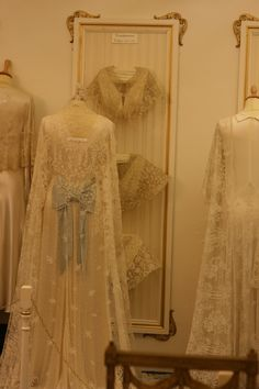 Carrickmacross Lace Gowns (19th Century)