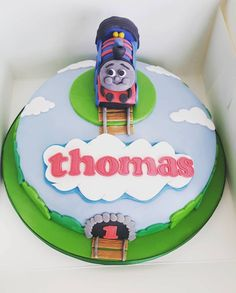 Thomas Tank Engine Cake Decoration Kit : 1000+ images about 1st Birthday Cake Ideas on Pinterest ...
