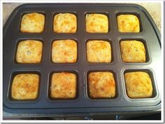 jalapeno cheddar cornbread in the brownie pan!
