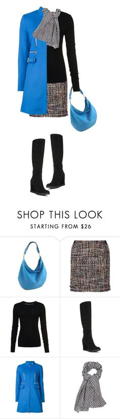"""""""something blue"""" by paperdollsq ❤ liked on Polyvore featuring Karl Lagerfeld, Superdry, Donald J Pliner and Moschino"""