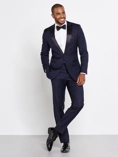 From The BLK TUX -- this is what Blake Smith said he used for his sisters wedding and was impressed... Midnight Blue Tuxedo   The Black Tux