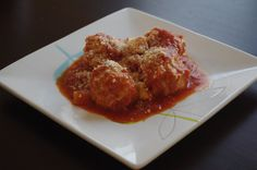 Stuffed Chicken Meatball Marinara   Saving Thyme: