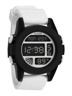 Nixon Unit A-197-127 White Black Herrenuhr $195 #watch #watches 49mm case material