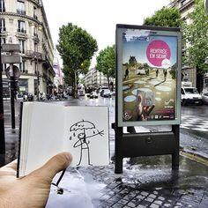 Welcome Back les parisiens !!! # #ElyxYak #Paris #Rentree #Rain #BergesDeSeine