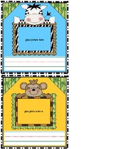 Jungle Safari Nametags ~ FREE ~