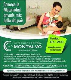 Maternidad Privada Montalvo - La Clínica Más Bella de Bolivia