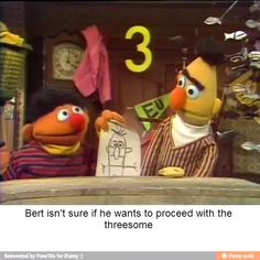 Funny Bert and Ernie
