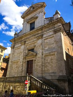 La Chiesa di San Martino - Foto del Tesoro di Siena su Flickr - https://www.flickr.com/photos/iltesorodisiena/26619701632/ - #Siena #ChieseDiSiena