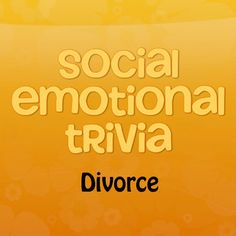 This free game is designed to help students learn about divorce, while expressing their thoughts and feelings about their own family situation. Jeopardy format and such a time saver! #counseling #divorce