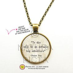 adorable necklaces peterpan - Google Search