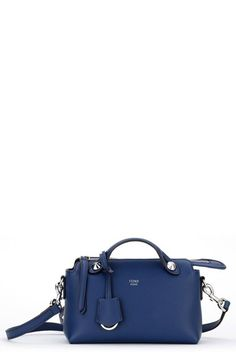 d7072172a39a Fendi  Mini By the Way  Convertible Leather Crossbody Bag available at   Nordstrom Black